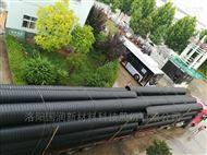 耐磨轻型排污管,新型塑料波纹管连接图片