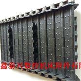 机床自动排屑机不锈钢链板