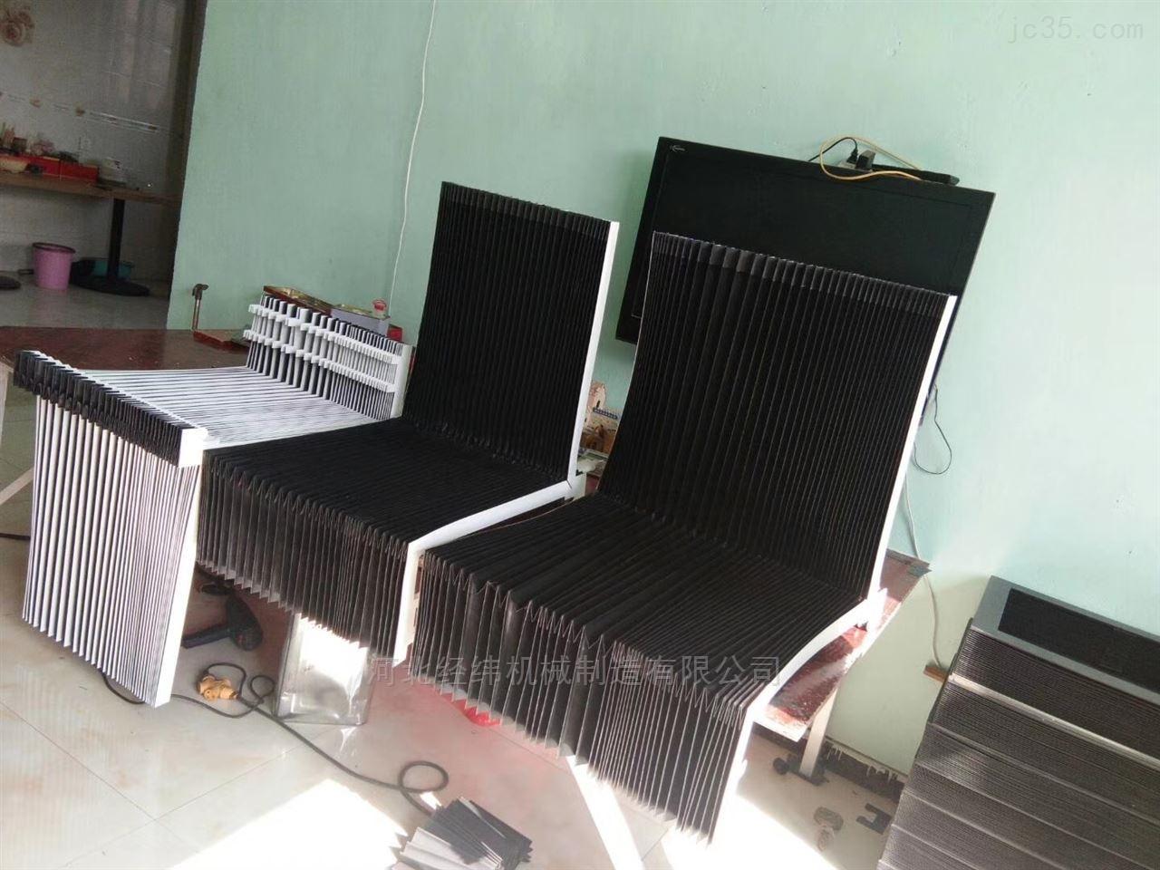 異型機床導軌柔性風琴防護罩皮老虎定做廠家