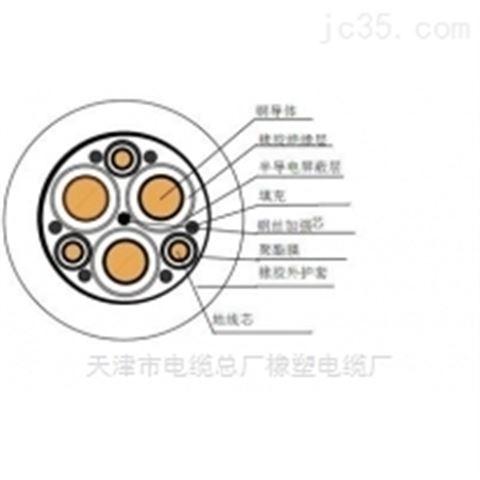 UGEFHP高压耐寒屏蔽电缆/10KV电缆报价