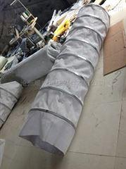自定水泥伸缩袋圆形帆布筒散布袋帆布防尘罩厂家