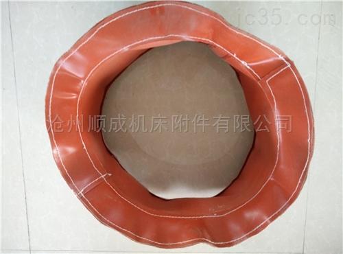 硅胶玻纤布软连接耐高温伸缩风管