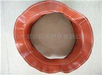 自定硅胶玻纤布软连接耐高温伸缩风管