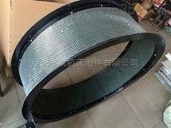 自定厂家定制钢丝圈支撑三防布软连接