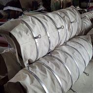 通风耐磨石棉布散装机伸缩软连接用途