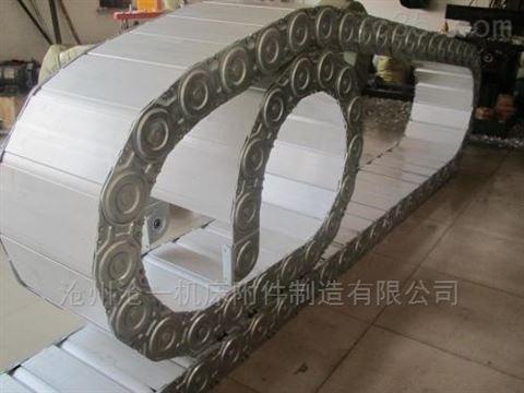 进口机床穿线钢制拖链