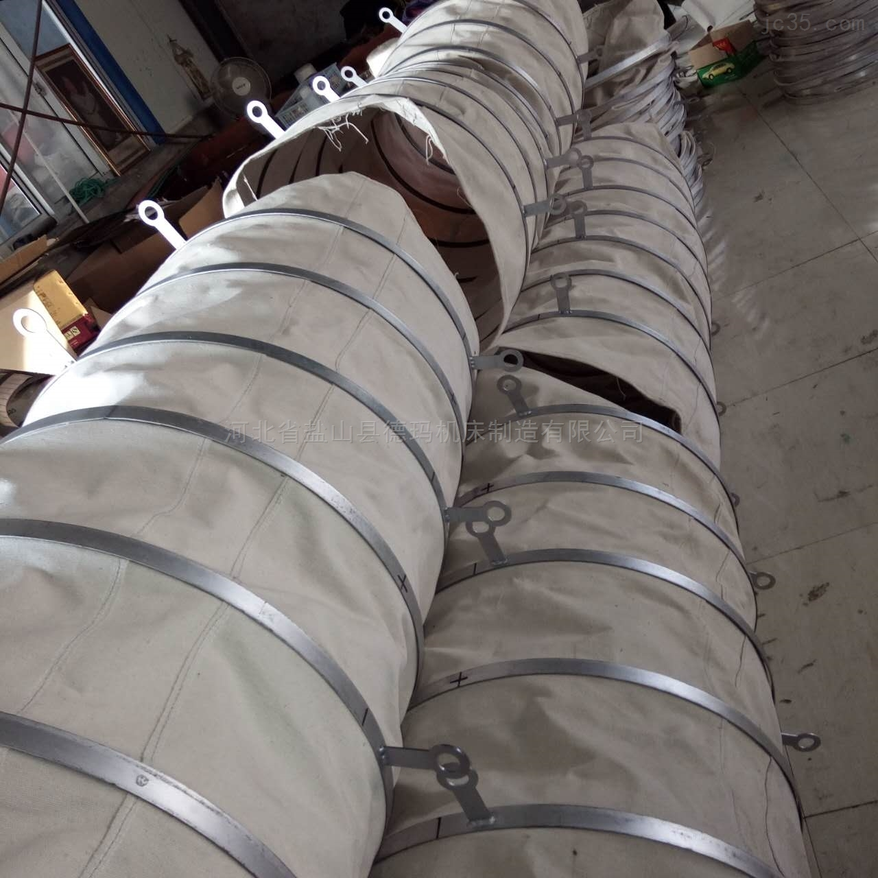 自定-橡胶布风机口软连接生产厂家