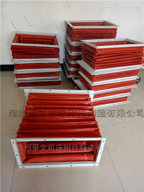 烘箱高温长方形风道软连接供应