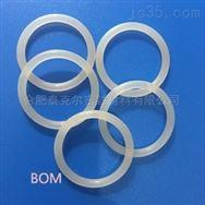 白色透明的材质软的O型圈密封件