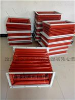 方形硅胶布耐温风管厂家加工