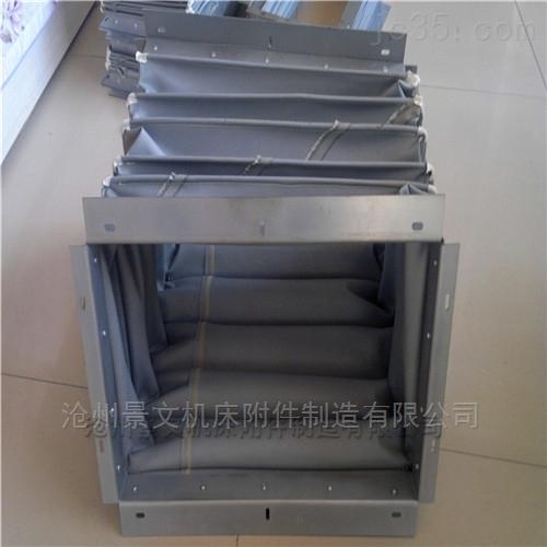 重庆橡胶布耐酸碱风道口软连接价格