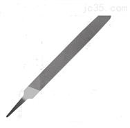 单纹扁平锉刀