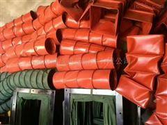 自定厂家定制三防布工程排风伸缩软连接