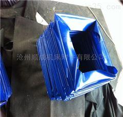 自定加工方形帆布防尘软连接