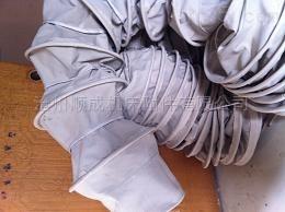河北水泥厂订购耐磨帆布水泥散装伸缩布袋