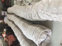 自定厂家供应帆布水泥伸缩袋带固环钢圈布袋