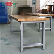 天钢原木工作桌操作台钳工台实验桌