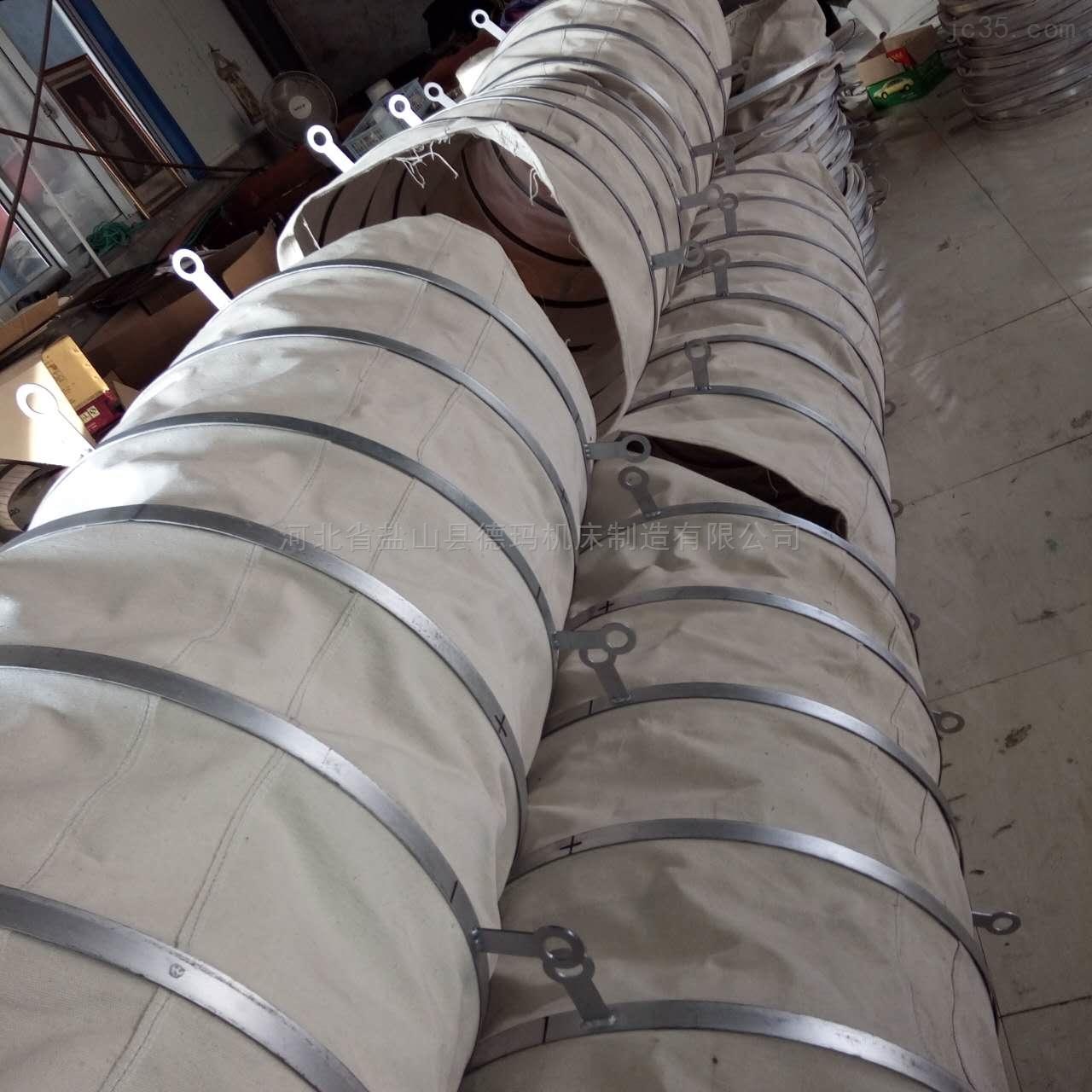 自定-防火帆布风机通风软连接生产厂家