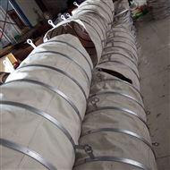 加厚水泥散装帆布除尘伸缩耐高温软连接厂家