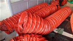 菏泽耐高温500度排烟伸缩软管价格