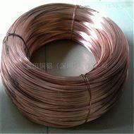 销售T2紫铜线 0.1mm紫铜圆线 C1100紫铜丝