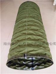 耐磨帆布下料口输送伸缩布袋厂家