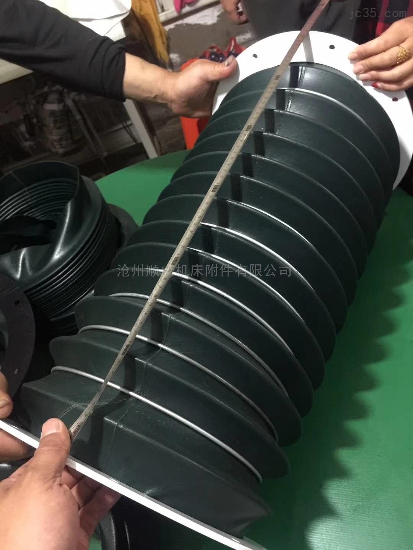 加工缝合式高温蛭石布软连接