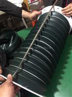自定厂家定制高温蛭石布耐高温伸缩管