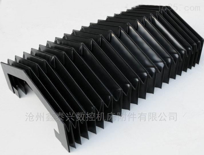 耐高温柔性风琴式导轨防护罩