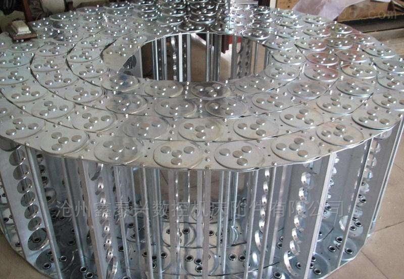 玻璃钢机械专用钢制拖链