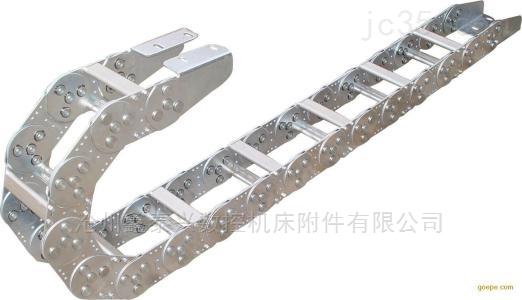 钢厂中包车专用钢制拖链