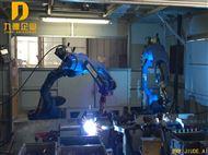 双机联动机器人自动焊接应用