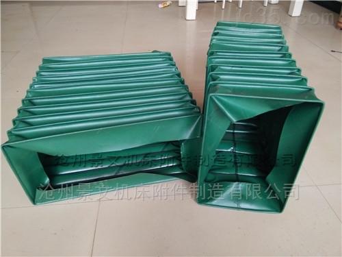 矩形帆布风道口通风软连接生产商