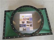 天时达制作天圆地方帆布伸缩软连接