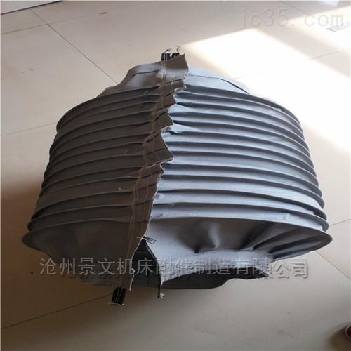 江苏帆布拉链式油缸伸缩防尘罩厂家定做价