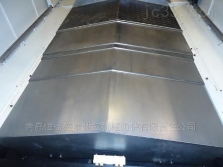 三菱机床650加工中心钢板导轨防护罩厂家