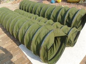 生产圆形帆布软连接
