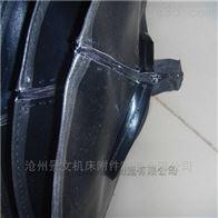 耐酸堿拉鏈式油缸伸縮防塵罩現貨供應