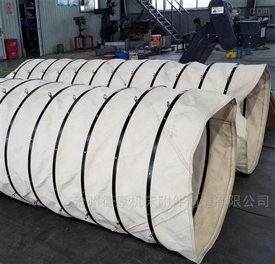350华新水泥厂散装水泥耐磨伸缩布袋