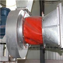 沧州法兰红色硅胶布软连接厂家直销