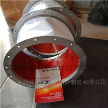 圆形法兰风机高温进风口软连接价格
