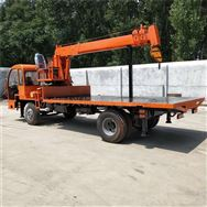 生产5吨随车吊 农用吊电线杆专用平板吊机