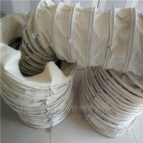 廣西水泥除塵輸送帆布伸縮布袋批發價