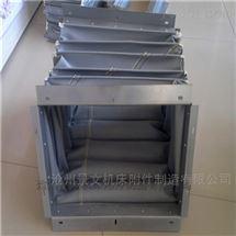 方形硅胶布高温风道口软连接生产厂家