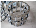 打孔式穿线钢铝拖链