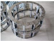 打孔式穿线钢铝拖链价格