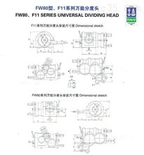 FW80型F11系列万能分度头