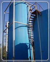 永州市啤酒污水厌氧反应器处理