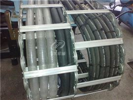 供应钢厂用油管线缆工程钢制拖链