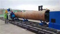 大型钢管管道相贯线切割机开孔坡口切割设备